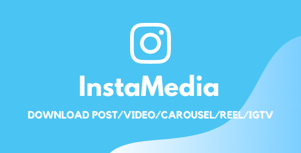 InstaMedia - Download From Instagram Thumbnail